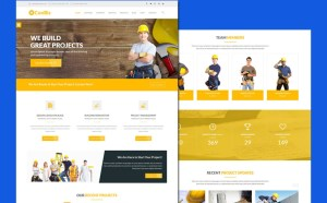 ConBiz : Free Construction Bootstrap Template