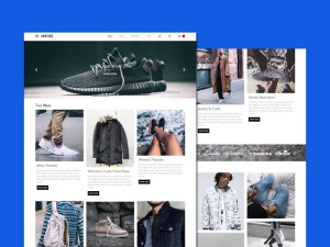 Justice : Free Fashion Ecommerce PSD Template