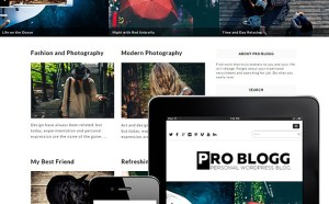 Problogg : Simple Blog Wordpress Theme