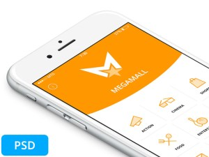 Shopping Mall App UI