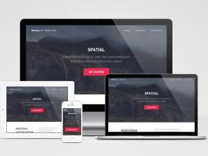 Spatial : Free Minimalist HTML Template