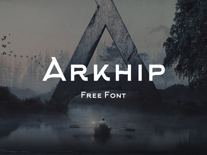Arkhip : Free Russian Style Font