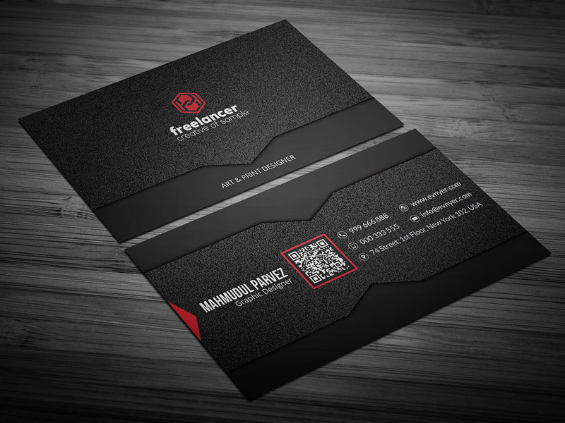 Noise Business Card Template