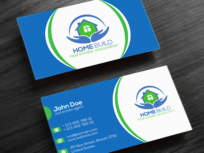 Free real estate business card templates free download.