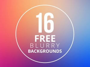 Free Blurry Backgrounds