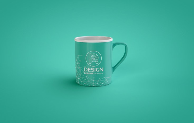 Free Classic Coffee Mug Mockup