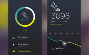 Fitness Tracker UI Design