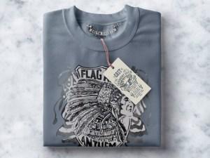 Free Folded Sweatshirt Mockup