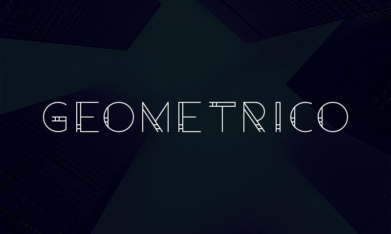 Geometrico Free Modern Font