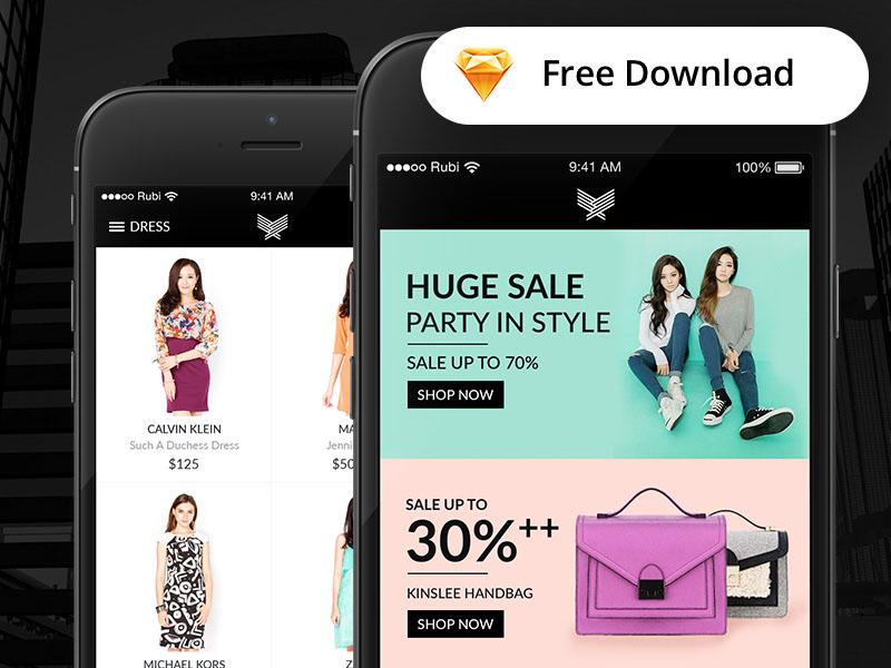 Indeux : Fashion App UI Kit