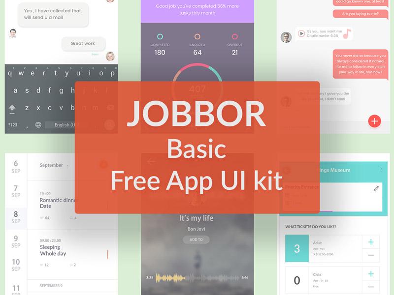 Jobbor App UI Kit