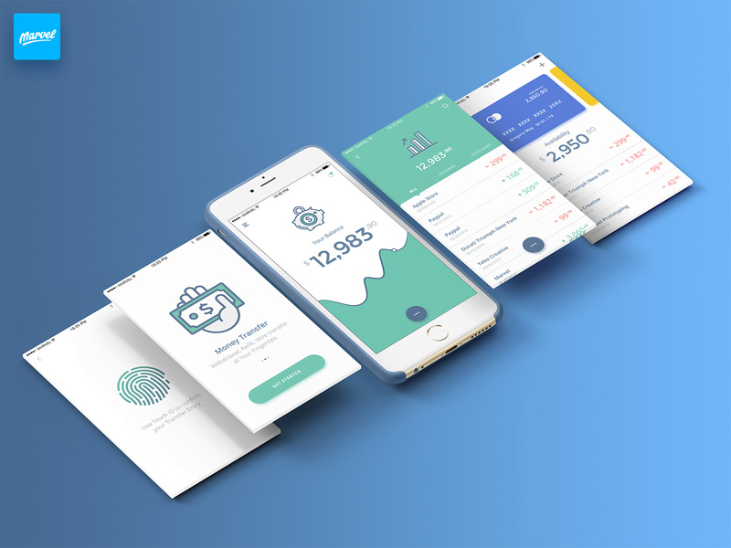 Mobile Banking UI Kit