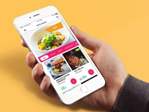 Restaurant Menu App UI