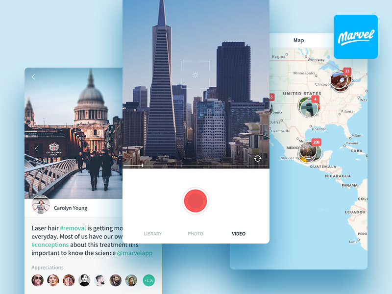 Snap : Photo App UI Kit