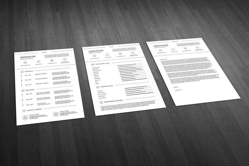 Super Minimal Resume Template