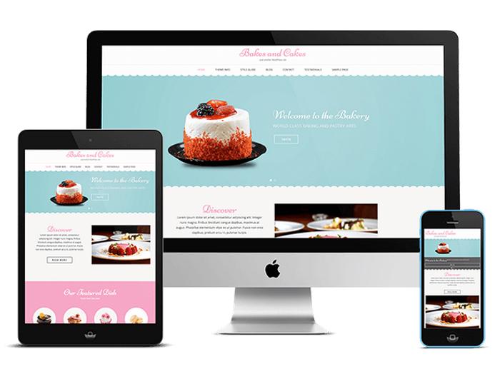 Free Bakery Wordpress Theme