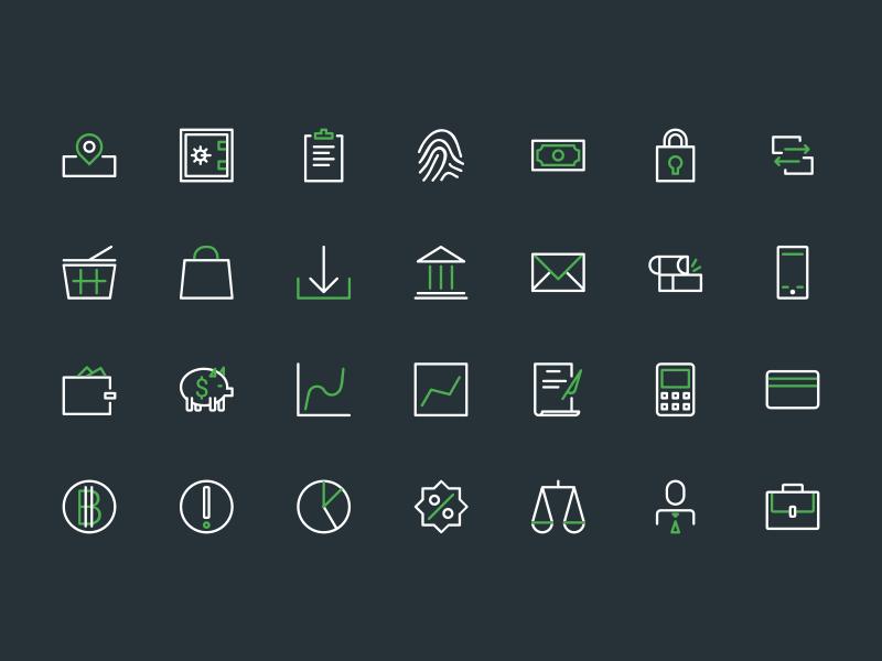 28 Free Banking Icons