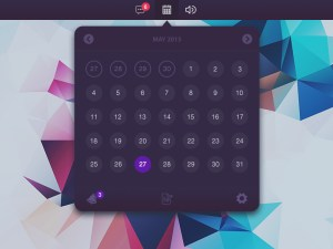 Clean Calendar UI Design