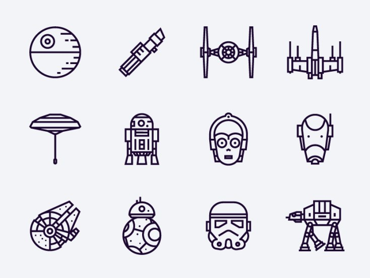 Free Star Wars Icons