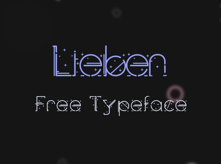 Lieben Free Display Font