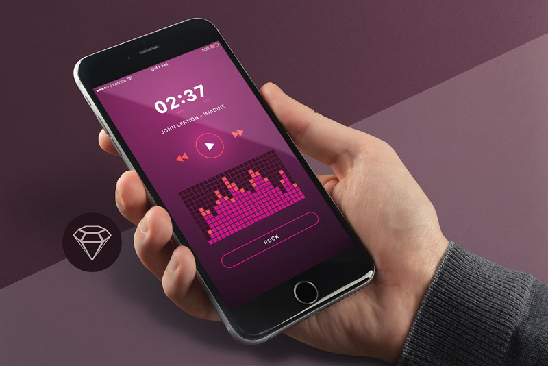 Music Equalizer App UI