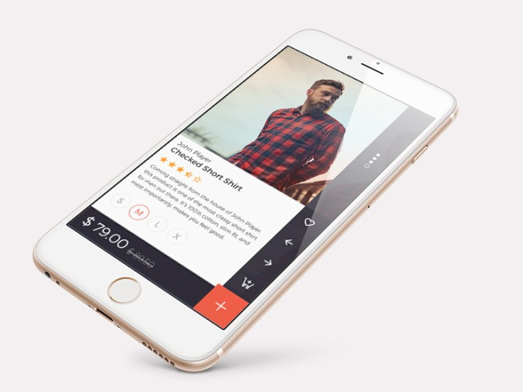 Product Screen App UI Design