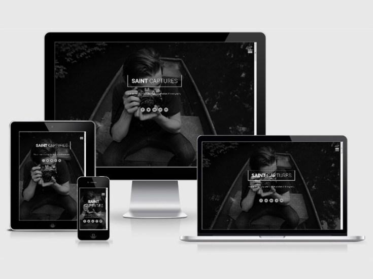 Saint : Photography HTML5 Template