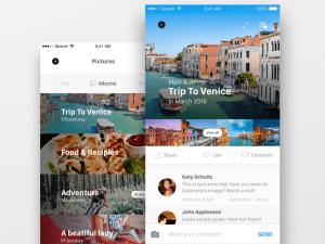 Travel App UI Design
