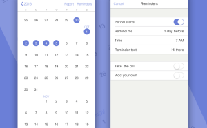 Calendar and Reminders App UI
