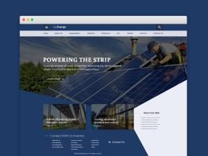FaoEnergy : Ecology PSD Website Template