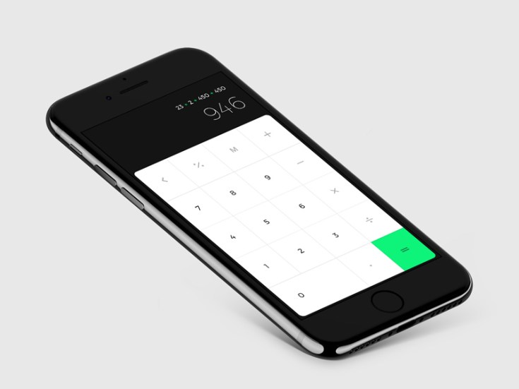 Free iOS Calculator UI