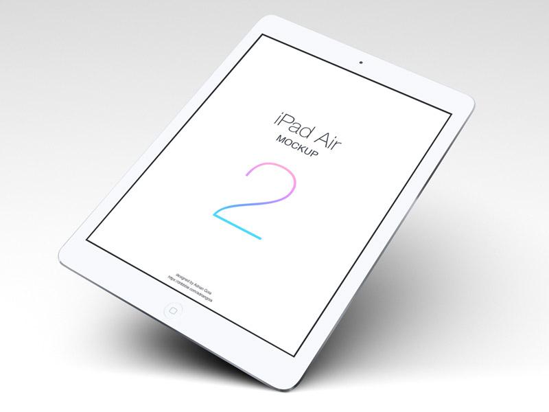 iPad Air 2 Tablet Mockup PSD