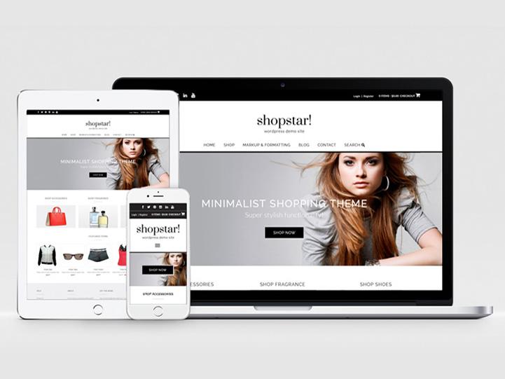 Shopstar : Free Responsive Woocommerce Theme