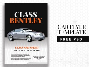 Free Automotive Flyer Template PSD