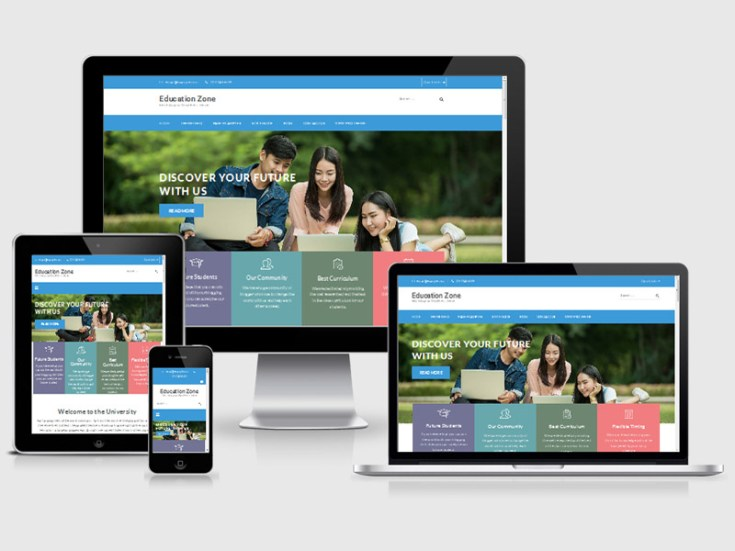 Education Zone : Free University Wordpress Theme
