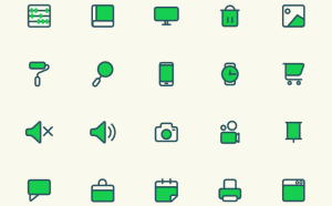 Free Modern and Simple Vector Icon