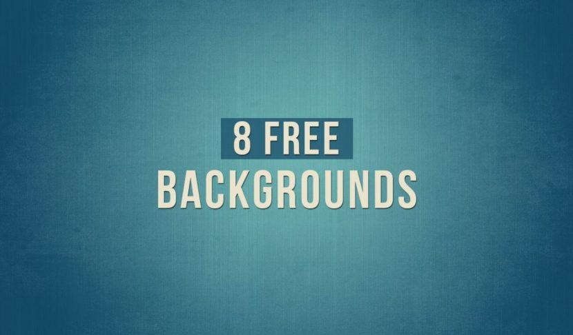 8 Free Presentation Backgrounds