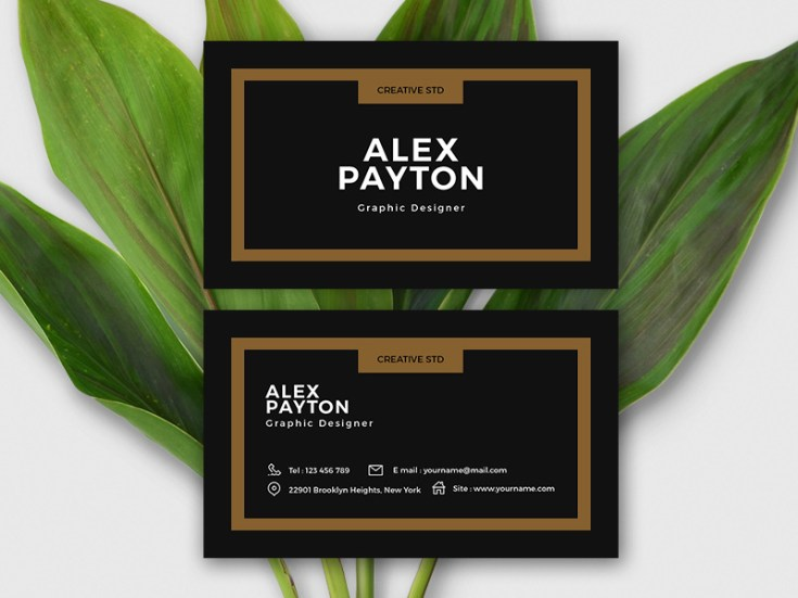 Free Mini Business Card Template