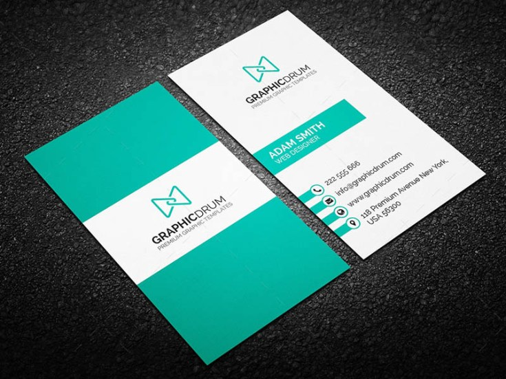Modern elegant business card template free download freebiesjedi modern elegant business card template fbccfo Gallery