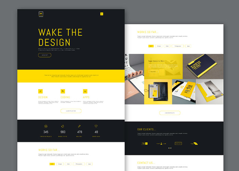 Montreal : Business PSD Web Template