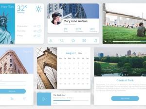 New York UI Kit
