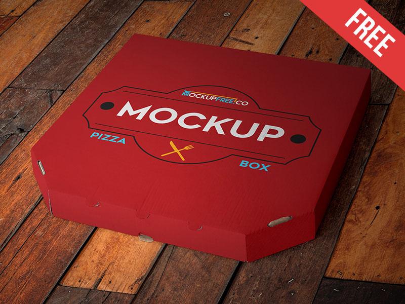 Download Pizza Box Mockup PSD - Free Download