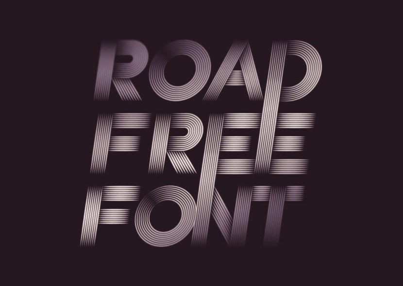 Road : Street Inspired Typeface