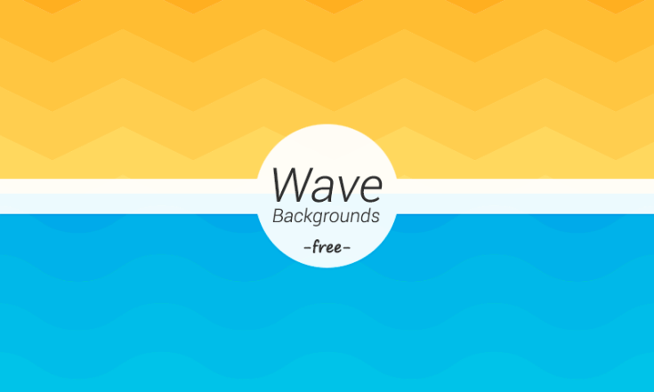 Free Wave Geometric Backgrounds