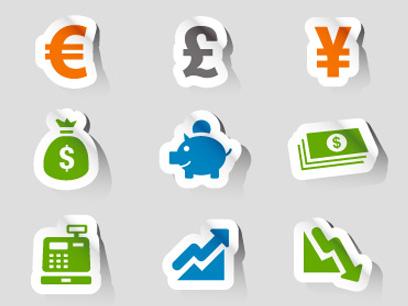 Vector Financial Icon Set