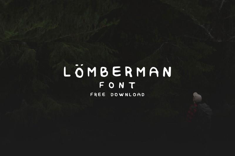 Lumberman Handwritten Typeface