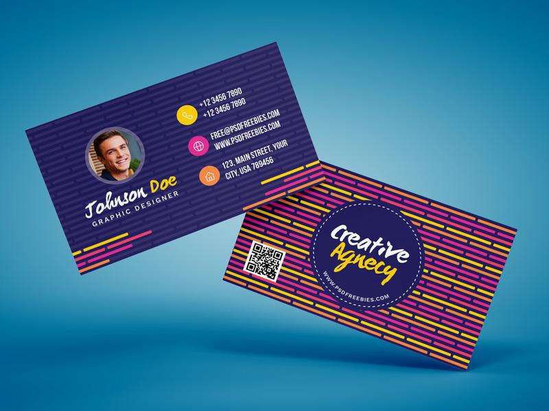 Creative Agency Business Card Template