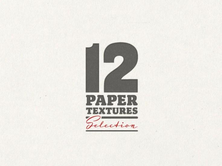 12 Paper Textures