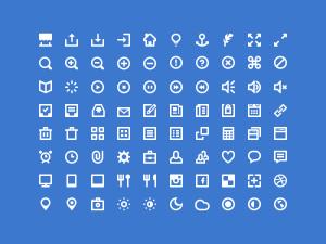 Free Shades White Icons