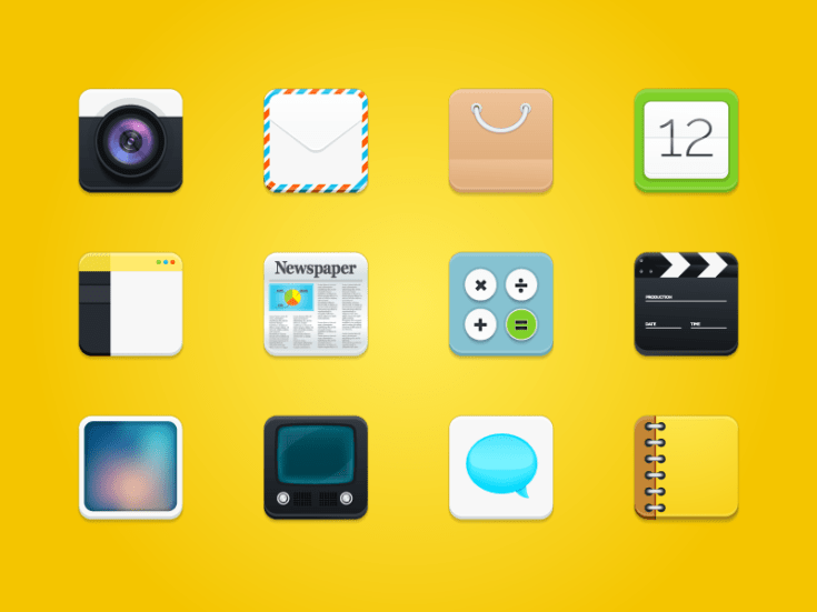 Free Square Rounded Icons